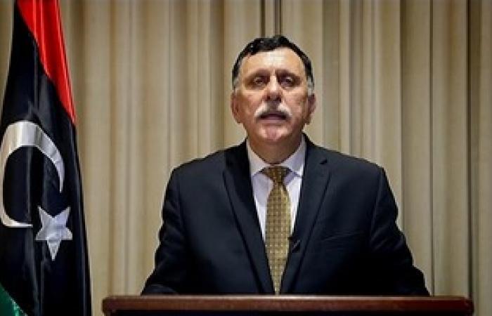"""مصادر لليوم السابع: """"السراج"""" يلتقى غدا مسئولى مصر المعنيين بالشأن الليبى"""