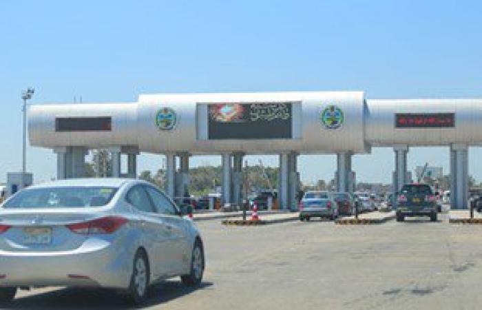 تحويلات مرورية بسبب كسر ماسورة مياة بطريق الإسكندرية الصحراوى