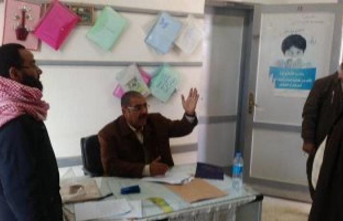 بالصور.. إحالة رئيس وأعضاء لجنة امتحانات النصر الابتدائية للتحقيق بمطروح
