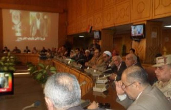 """بالصور..رئيس زراعة البرلمان من الإسماعيلية:""""القوات المسلحة نهضت بالبلد"""""""