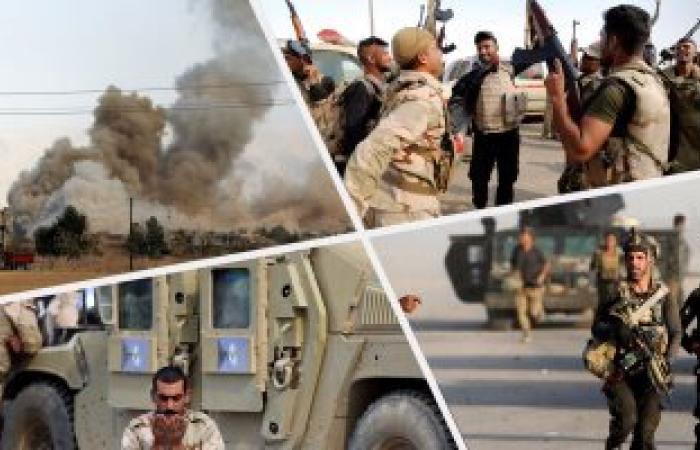 القوات العراقية تقتحم آخر مناطق الساحل الأيسر للموصل
