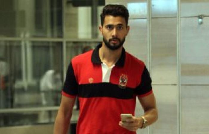 الأهلى يطمئن على حالة أحمد عادل بسبب آلام المعدة