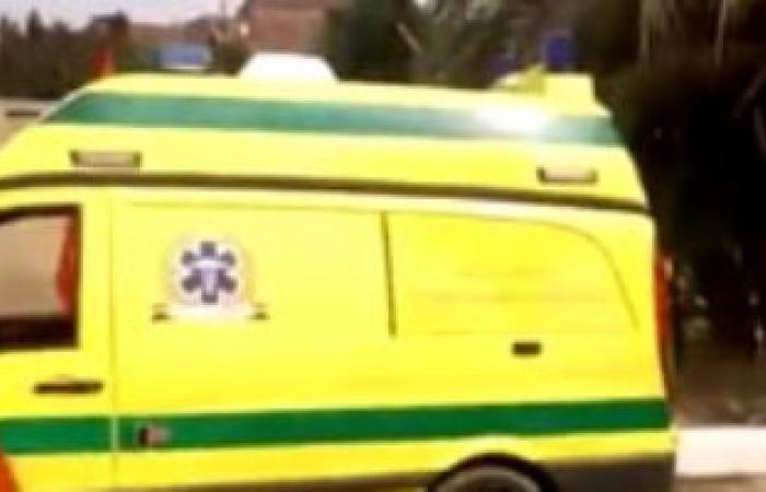 مصرع سيدة وإصابة نجليها صدمتهم سيارة ملاكى أثناء عبورهم كوبرى الملك خالد بالأوتوستراد