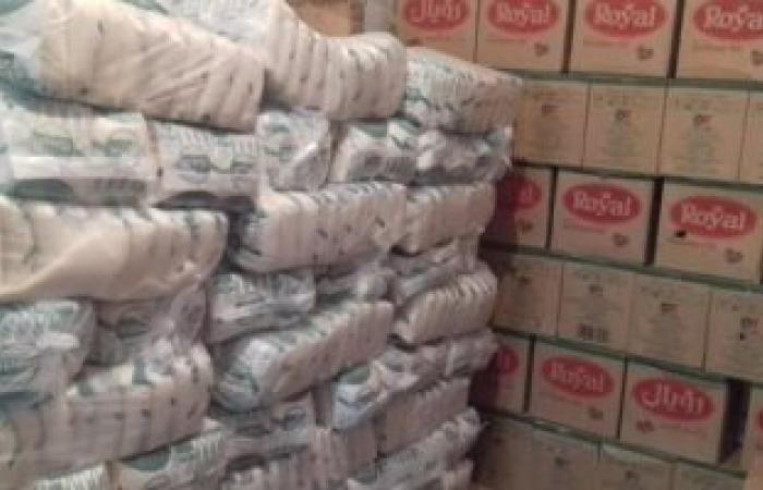ضبط 6 أطنان سكر بحوزة سائق بالبحر الأحمر