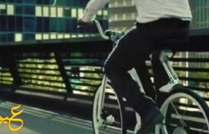 """بالفيديو : دراجة إلكترونية حديثة تطوى في ثانية وتغلق بواسطة الهاتف """"لن تشاهد مثلها"""""""