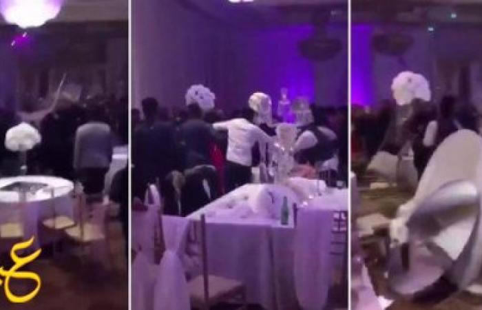 فيديو مأساوي لحفل زفاف بعد توزيع شاب صوراً فاضحة مع العروس
