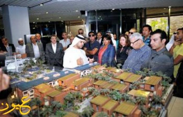 فنانون مصريون من قصر الإمارات:الله عليك يا سيسي بكرة هتبقى رئيسي
