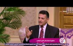 السفيرة عزيزة - د. رضا عبد الجليل ... الفرق بين اللبن المعلب واللبن السائب