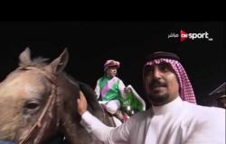 القاهرة أبوظبي: زيارة. محمود الخطيب لبطولة كأس دبي العالمي للخيول