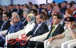 من هو الشاب الذي توسط السيسي ووزير الدفاع في مؤتمر الإسماعيلية؟