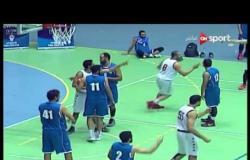 مباراة سبورتينج وسموحة - ضمن دوري السوبر لكرة السلة