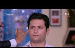 """السفيرة عزيزة - أحمد أيسل """" خبير تجميل """" بالفيديو يخفي حبوب الوجه للرجل قبل زفافه"""
