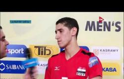 مونديال شباب الطائرة - لقاء مع هشام يسري لاعب منتخب شباب الطائرة عقب الخسارة من البرازيل