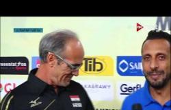 تصريحات ك/ كارلوس المدير الفنى للمنتخب المصري بعد الفوز على المكسيك فى بطولة العالم للكرة الطائرة