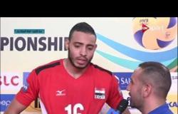 مونديال شباب الطائرة - لقاء مع محمد محسن لاعب منتخب شباب الطائرة عقب الفوز على الصين