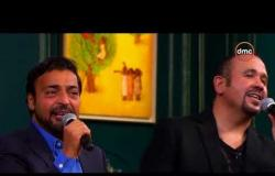 """صالون أنوشكا - مصطفى قمر يبدع بأغنية """" السود عيونه """" بمشاركة حميد الشاعري وهشام عباس"""