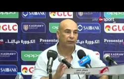 ستاد مصر - حسام حسن يوضح أسباب إشارته باللون الأحمر لجماهير الزمالك