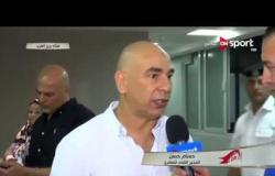 """ستاد مصر - حسام حسن ردا على تصريحات طارق يحيى : """" مين طارق يحيى ؟ """""""