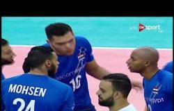 مباراة مصر والكونغو ضمن بطولة أمم إفريقيا للكرة الطائرة