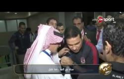 خاص مع سيف - لحظات خروج حسام البدري مدرب الأهلي من الملعب عقب التعادل مع الوداد
