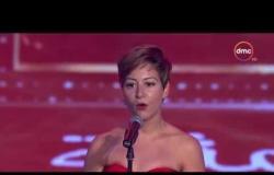 الفنانة مني شلبي تفوز بجائزة أفضل ممثلة دور أول | حفل توزيع جوائز السينما العربية