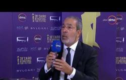 """مهرجان القاهرة السينمائي - لقاء مع الكاتب الكبير """" مدحت العدل ورأيه في الأعمال الهادفة"""