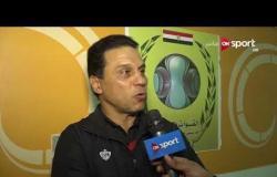ملاعب ONsport - تصريحات حسام البدرى المدير الفنى لفريق الأهلى عقب الهزيمة من مصر للمقاصة