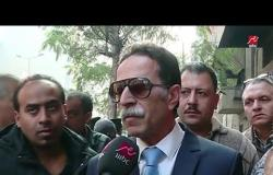 تصريح اللواء خالد عقل رئيس حي باب الشعرية حول الحريق الذي نشب في مخزن الكابلات