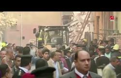 مقتل طفلة و سيدة بعد إنهيار 3 عقارات بروض الفرج.. ورئيس الحي يعلق على الواقعة في #حديث_المساء