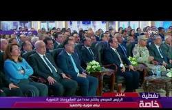 """تغطية خاصة - """" وزير النقل """" يستعرض مشروعات السكك الحديدية في صعيد مصر"""