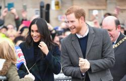 الأمير هاري وخطيبته يثيران الإعجاب في أدنبره