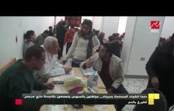 دعما للقوات المسلحة بسيناء .. مواطنون بالسويس يتجمعون بكنيسة ماري جرجس للتبرع بالدم