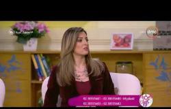 السفيرة عزيزة - د/ ندي رضا يجب وضع الكريم المرطب في بخار الحمام
