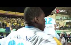 ستاد مصر - لقطات خاصة من تحية جماهير الإسماعيلي لحسني عبدربه قائد الفريق عقب الفوز على المقاولون