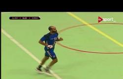 مباراة الأهلي ومينو الكاميروني ضمن كأس الكؤوس الإفريقية لكرة اليد