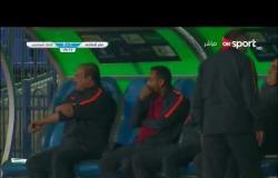 جون أنطوي يحرز الهدف الأول لفريق مصر للمقاصة داخل  شباك الاتحاد السكندري في الدقيقة 25 من المباراة