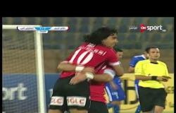 الهدف الثالث لفريق طلائع الجيش فى مرمى المقاولون العرب يحرزه حسن يوسف فى الدقيقة 74 من زمن المباراة