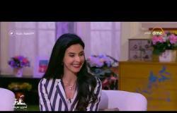 """السفيرة عزيزة - الفنانة """" نادين """" تحكي عن رد فعل أبنائها عند مشاهدتهم لها في التلفزيون"""