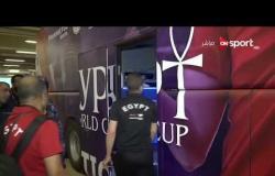 الطريق إلى روسيا - لقطات من مغادرة المنتخب الوطني ملعب جابر الأحمد وتفاعل الجماهير مع اللاعبين