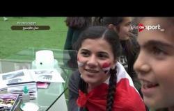 موفدة ONSPORT في سان بطرسبرج .. على أنغام المزمار المصريون يحتفلون قبل مباراة روسيا
