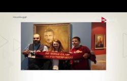 محمد صلاح يتوسط أساطير العالم بالزي العسكري التاريخي في متحف بروسيا