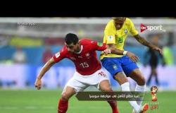 صربيا تتطلع للتأهل في مواجهة سويسرا