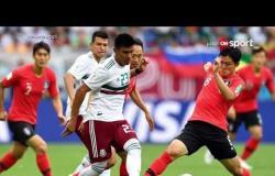 المكسيك تفوز على كوريا الجنوبية وتقترب من الدور الثاني للمونديال