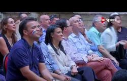 احتفالية الجالية الفرنسية بالقاهرة بالتتويج بكأس العالم