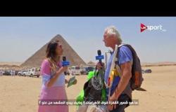 لقاء مع هيرمان لانديزمان. أحد المشاركين في مهرجان مصر الدولي للقفز الح