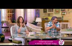 """السفيرة عزيزة - مشاكسات شيرين عفت وتامر فرج وطرح سؤال """" شكيتي في جوزك انهاردة """""""