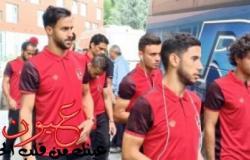 فريق النجمة اللبنانى يصل برج العرب استعدادا للأهلى