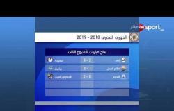 استعراض لجدول الدوري الممتاز قبل مواجهة مصر للمقاصة والزمالك بالجولة الثالثة