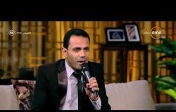 مساء dmc - المنشد إبراهيم راشد يبدع بصوته في إنشاد خاص بقناة dmc بالاشتراك مع أسامة كمال