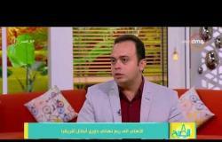 8 الصبح -  أيمن حسب النبي : مباراة النجمة اللبناني كانت مباراة صعبة جدا للأهلي